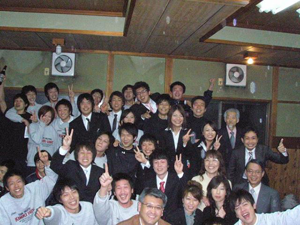 近畿大学バレーボール部の皆様!