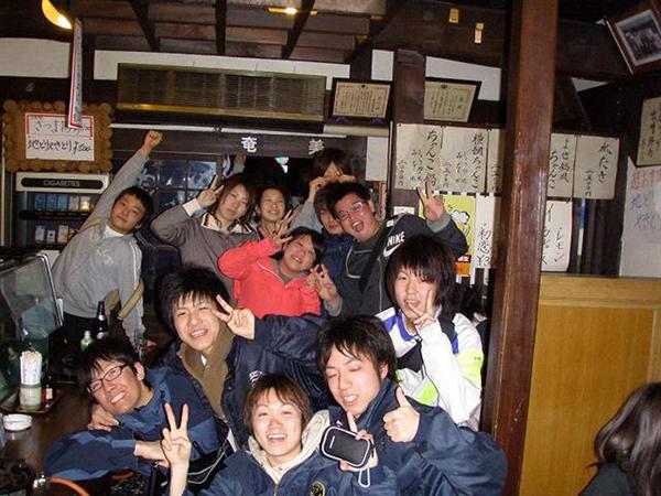 近畿大学卓球部の皆様!