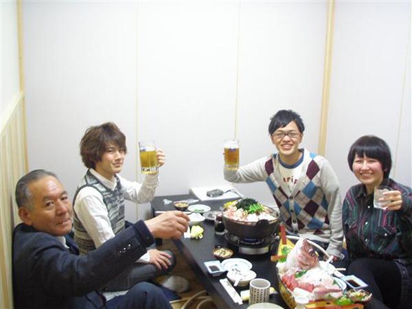 近畿大学湯浅先生を囲んで!