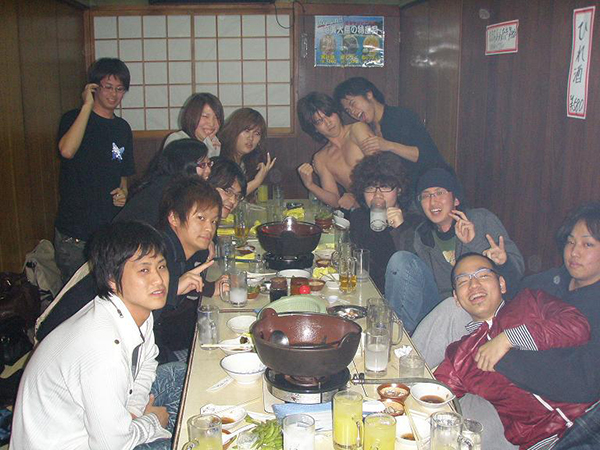 近畿大学文化会新企画'08の皆様!