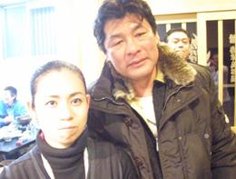 元プロボクサーで俳優の赤井英和さん!