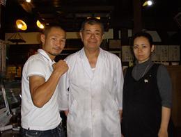 WBAスーパーフライ級チャンピオンの名城信男さん!
