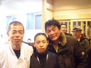 俳優の赤井英和さんが来店されました!