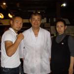 世界ボクシング協会(WBA)スーパーフライ級チャンピオンの名城信男さんが来店されました!